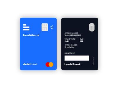 Bentobank Card Design
