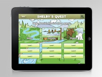 Shelby's Quest iPad App