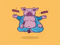 Bacon Buddha