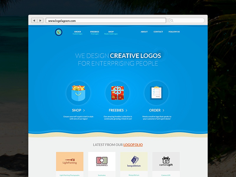 Logo lagoon 800x600  dribbble shot template 03 03