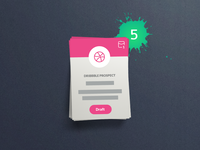 @5x Dribbble Invitations