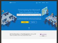 TFS Timetracker Landing Page