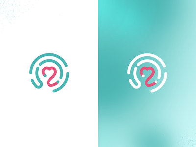 Interactive Information Logo app doctor branding information print symbol mark platform medical interaction logo