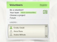 Volunteers box