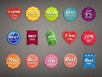 Tiny Badges & Tags