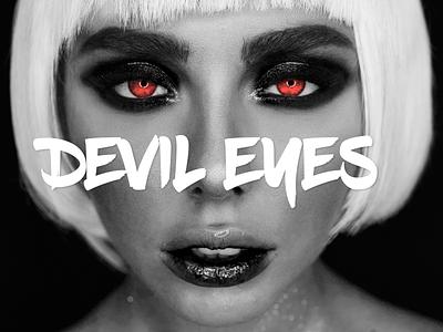 Devil Eyes - Hippie Sabotage photo manipulation album artwork album art music artwork music art design advertisement ad photoshop