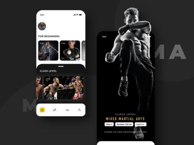 BeFit Concept fitness app fitness ux minimalist card ui design uiux ui