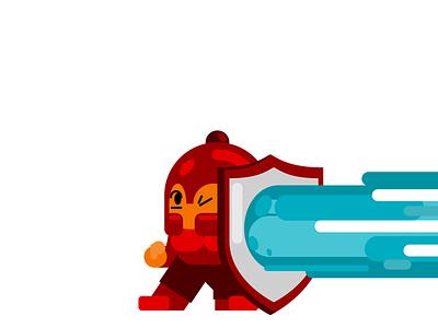 Guarded laser guarded vector mascot flat 2d geometric flat 2d illustrator illustration design character-design character