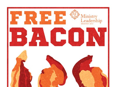 Everything is better with... bacon flyer