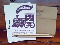 Second Birthday Invites