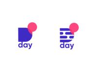 Dday / D letter logo