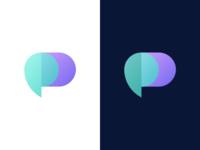 D + Chat Logo Concept