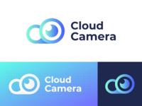 Cloud Camera Logo Concept