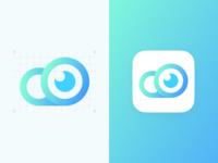 Cloud Camera App Icon Concept