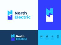 North Electric Logo Concept