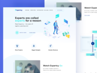 Expertcy Landing Page Approved