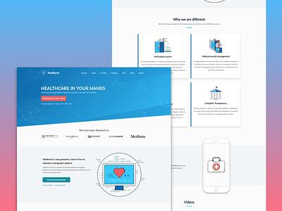 Medibond ICO designway website medibond