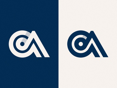 OA Monogram Version 1 ui vector line mark symbol logo monogram oa