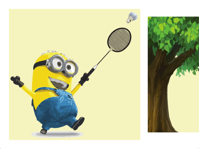 Visual storytelling and advertising product story product branding illustration animation design transitions visual design graphic design graphics giraffe minion yellow complan minions illustrations visual storytelling