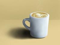 Rendered latte, please.