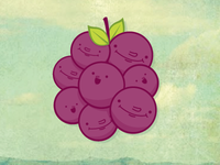 We is grapes!