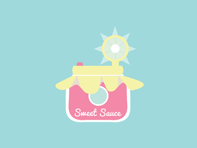 Sweet Sauce Photography Logo pastel vector branding color logo