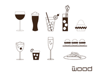 The Wood Menu Icons