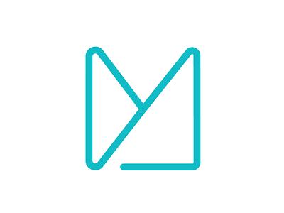 Personal Logo blue mark design illustrator vector branding color logo