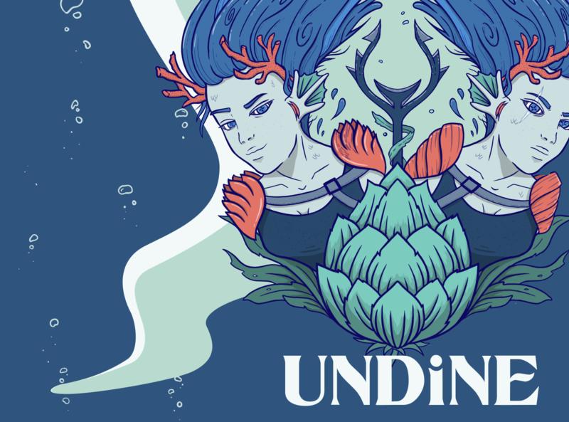 Undine Spot Illustration