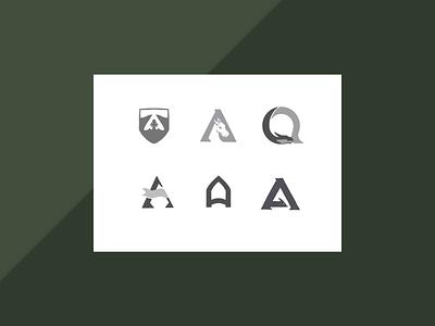 Alarad Sketch Culling a letter icon identity design sketch brand illustration branding logo