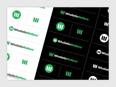 WM Refresh & Production nutrition production adobe illustrator wordmark vector identity type typography brand branding logo
