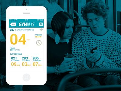 Gynbus umobi goiânia ios android bus app gynbus
