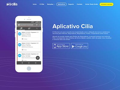 Cilia - App color app cilia blue yellow car 3d brazil