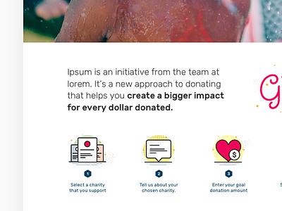 More impact layout web design icons ui