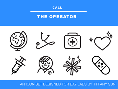Mini Icon Set  health medical illustration icon