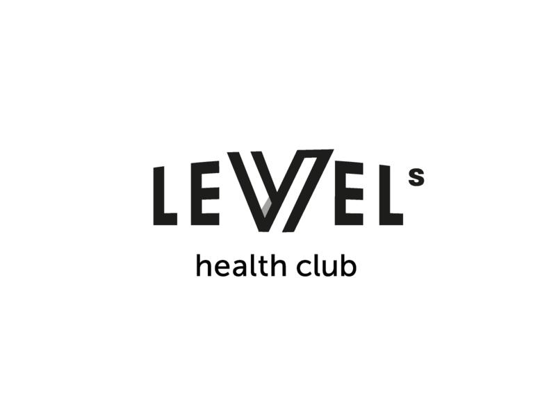 Level Health Club - Logo Concept brand branding design concept logotype logodesign logobranding branding logo