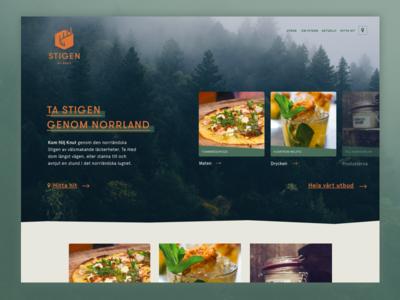 Web Concept ui webdesign landingpage
