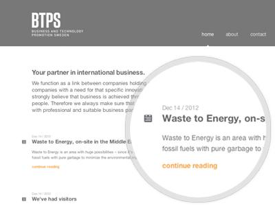 Landing Page website web webdesign