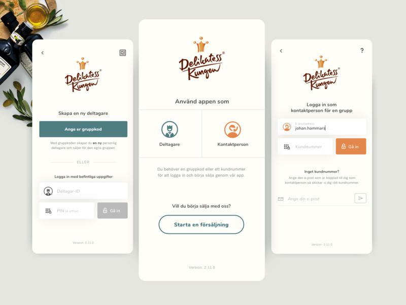 WIP; Login page webdesign ui application food products iphone login screen login page login app design app