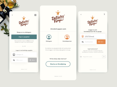 WIP; Login page webdesign ui application food products iphone login screen login page login app design app