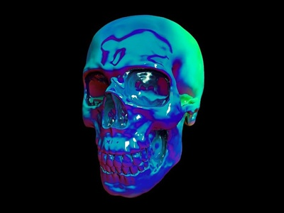 Holographic Skull