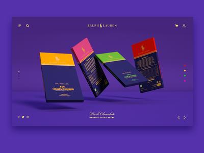 Ui Design - Ralph Lauren Dark Chocolate