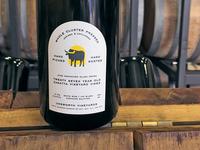 Wine back label