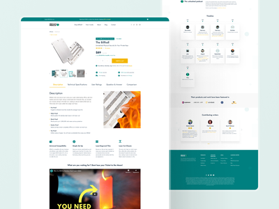 Product page design store design ux crypto store webdesign interface design product