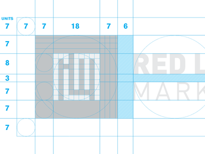 Red Letter Marketing Logo by Olaf Ebert Dribbble