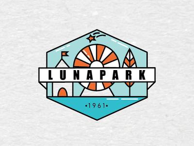 Logo for an Amusement Park III