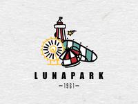 Logo for an Amusement Park V