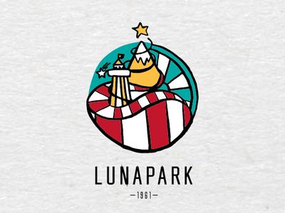 Logo for an Amusement Park IX