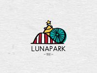 Logo for an Amusement Park X