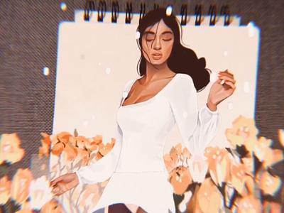 Augmented Reality Animations procreate art procreate digital painting illustration illustration art motion animation animation 2d animated gif motion design slide ar ar app augmentedreality